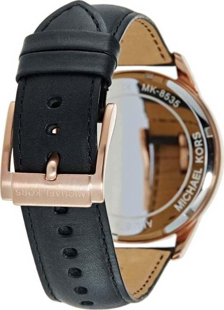 78303b2f4085 Michael Kors Men s Gage Chronograph Black Leather Watch MK8535. Facebook ·  Twitter · Pinterest · Google Plus · Email. MK8535