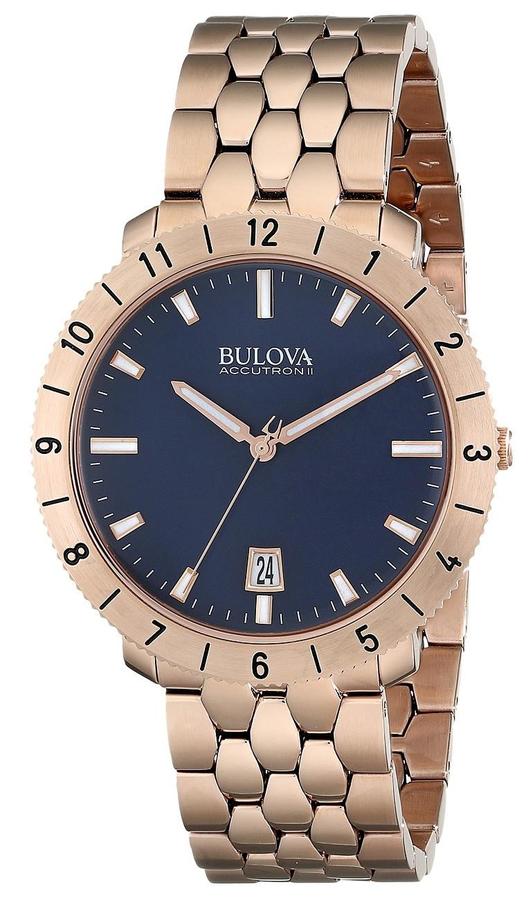 Bulova Men's Accutron II Blue Dial Watch 97B130