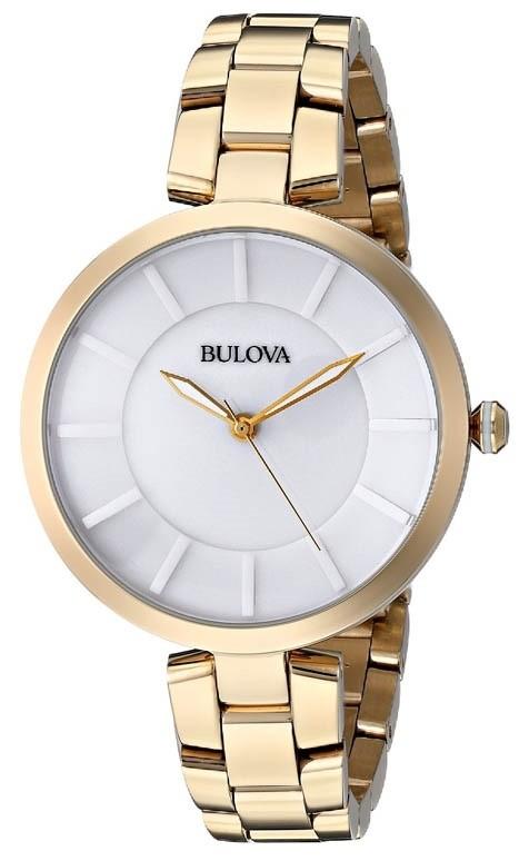 Bulova 97L142 Women's Gold Tone Watch