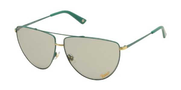 7e7afa95ed Gucci Women s Aviator Full Rim Light Green Sunglasses GG 2909 S V7J NG