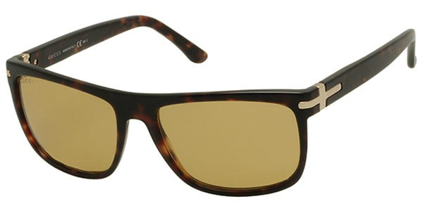 988f52ea57 Gucci Unisex Full Rim Havana Brown Sunglasses GG 1027 S TVD BZ