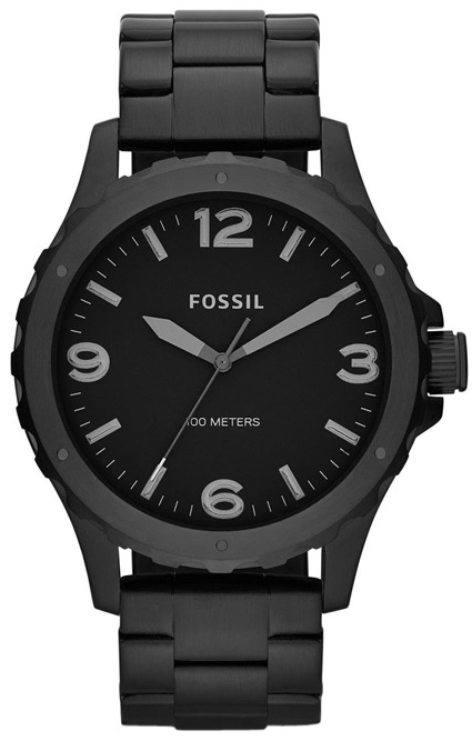 Fossil Men's Nate Black Watch JR1458