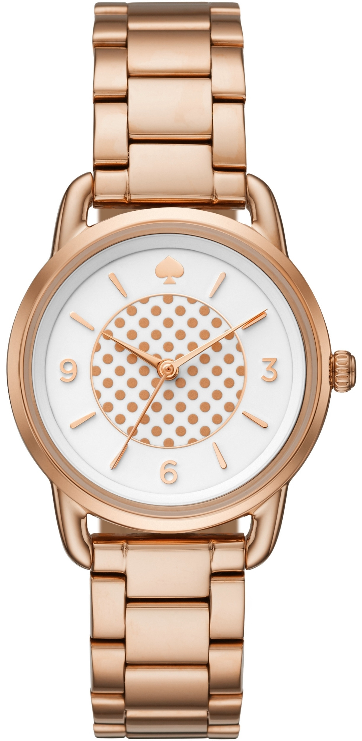 Kate Spade BoatHouse Women's White Dial Rose Gold Stainless Steel Watch KSW1167