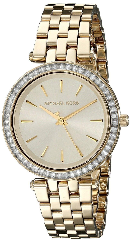 Michael Kors Women's Mini Darci Gold Tone Crystals Watch MK3365