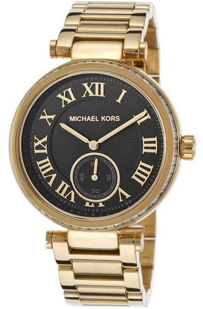 fdbb5461307a Michael Kors Women s Skylar Chronograph Black Dial Watch MK5989