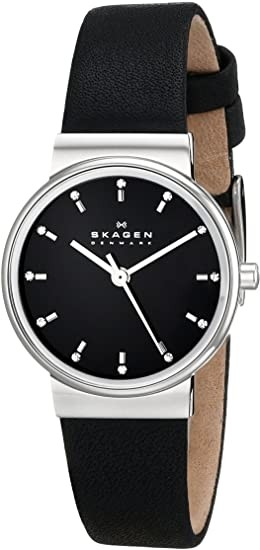 Skagen Women's Ancher Leather Quartz Watch