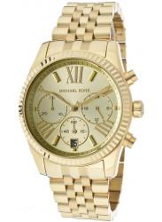Michael Kors Women's Lexington Chronograph Gold Tone Watch MK5556