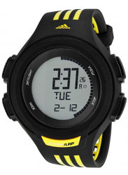 Adidas Men's Referee Chronograph Digital Black and Yellow Watch ADP3076