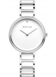 Bering Women's White Dial Two-Tone Ceramic Watch 30534‐754