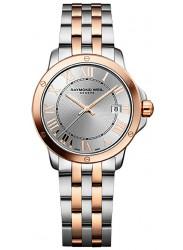 Raymond Weil Men's Tango Silver Dial Two Tone Watch 5599-SB5-00658