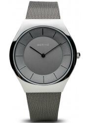 Bering Women's Grey Dial Stainless Steel Mesh Watch 11936‐309