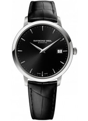 Raymond Weil Men's Toccata Black Dial Black Leather Watch 5588-STC-20001