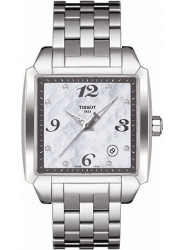 Tissot Men's Quadrato Mother of Pearl Dial Watch T005.510.11.117.00