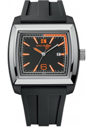 Hugo Boss Orange Men's Black Dial Rubber Watch 1512601
