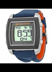 Hugo Boss Orange Men's Digital Dial Blue Cloth Watch HUG1512607