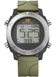 Hugo Boss Orange Unisex Chronograph Digital Dial Green Rubber HUG1512675