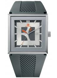 Hugo Boss Orange Men's Grey Dial Grey Silicone Watch 1512703