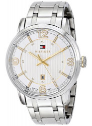 Tommy Hilfiger Men's Two-Tone Stainless Steel Watch 1710344