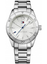 Tommy Hilfiger Women's Ritz Silver Dial Stainless Steel Watch 1781267