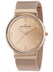 Skagen Women's Ancher Denmark Steel Mesh Bracelet Watch