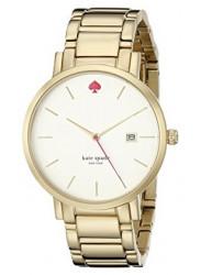 Kate Spade Women's Gramercy Gold Tone Stainless Steel Watch 1YRU0009