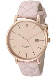Kate Spade Women's Metro Rose Dial Pink Leather Watch 1YRU0845