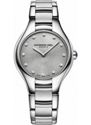 Raymond Weil Women's Noemia Grey Dial Diamond Watch 5132-ST-65081