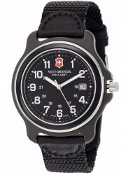 Victorinox Men's Original Black Dial Black Nylon Watch 249090