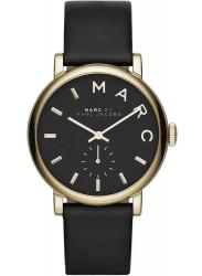 Marc by Marc Jacobs Women's Baker Black Dial Black Leather Watch MBM1269