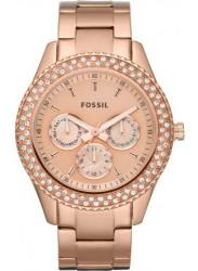Fossil Women's Stella Chronograph Rose Gold Tone Watch ES3003