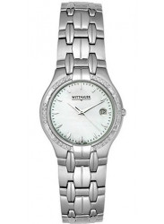 Wittnauer Men's Astor Mother of Pearl Dial Stainless Steel Watch 10E01