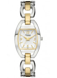 Caravelle Women's White Dial Two Tone Watch 45L107