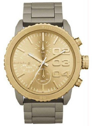 Diesel Women's Advanced Chronograph Champagne Dial Watch DZ5303