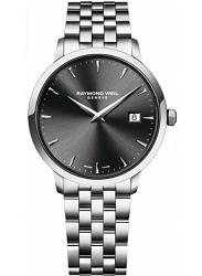 Raymond Weil Men's Toccata Dark Grey Dial Stainless Steel Watch 5488-ST-60001