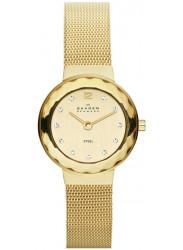 Skagen Women's Champagne Dial Swarovski Crystal Watch 456SGSG