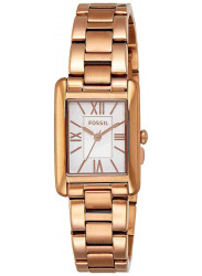 Fossil Women's Florence Rose Gold Tone Watch ES3326