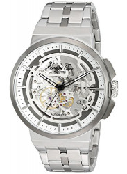 Kenneth Cole Men's New York Automatic Skeleton Dial Stainless Steel Watch 10022315