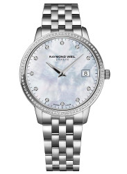 Raymond Weil Women's Toccata Mother Of Pearl Dial Diamond Watch 5388-STS-97081