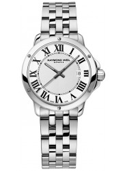 Raymond Weil Women's Tango White Dial Stainless Steel Watch 5391-ST-00300