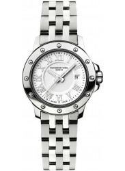 Raymond Weil Women's Tango White Dial Stainless Steel Watch 5399-ST-00308