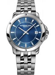 Raymond Weil Men's Tango Blue Dial Watch 5591-ST-50001