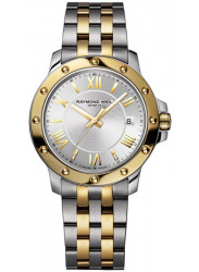 Raymond Weil Women's Tango Silver Dial Two Tone Watch 5399-STP-00657