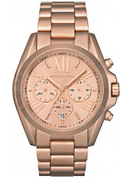 Michael Kors Women's Bradshaw Chronograph Rose Gold Tone Watch MK5503