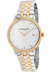 Raymond Weil Men's Toccata Silver Dial Two Tone Watch 5488-SP5-C6501