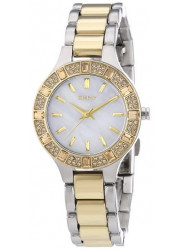DKNY Women's Chambers Mother Of Pearl Two Tone Watch NY8742