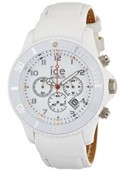 Ice-Watch Unisex White Dial Plastic Strap Watch CL.WE.U.P.09