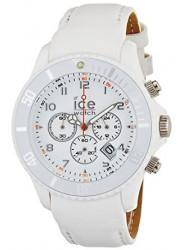 Ice-Watch Unisex White Dial Plastic Strap Watch CL.WE.U.P.09