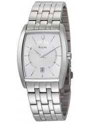 Bulova Men's Silver Dial Classic Watch 96B121