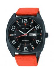 Seiko SNKN39 Recraft Series Automatic Black Dial Day Date Men's Watch