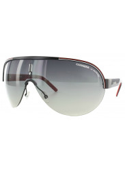 Carrera Unisex Oversized Semi Rim Black Red Sunglasses CARRERA 35 95K/DX